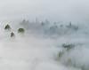 Coastal fog, Mendocino