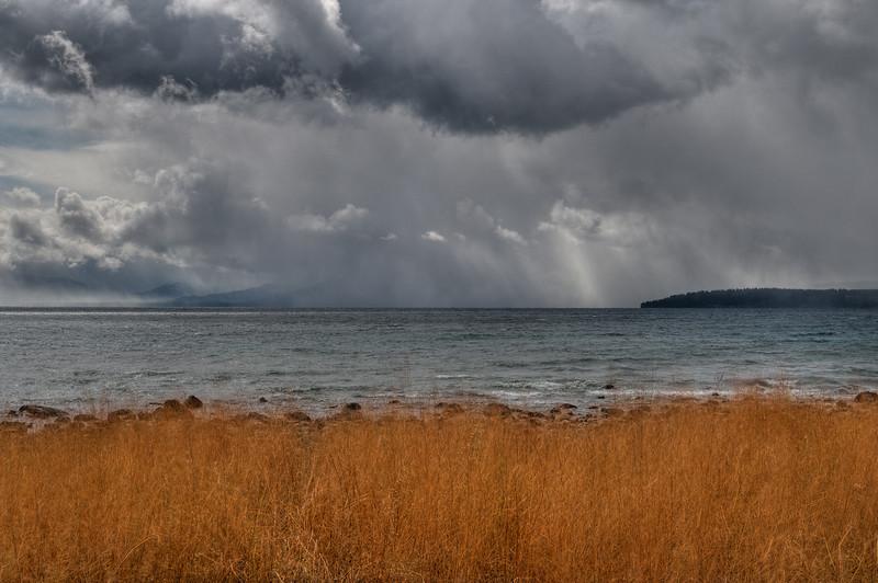October storm, Lake Tahoe