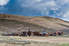 Bodie, CA had a population of 10,000 in 1879