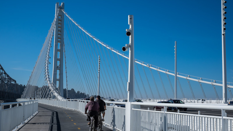 The new Bay Bridge, December 2013