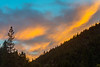 sunset in the north Yuba canyon