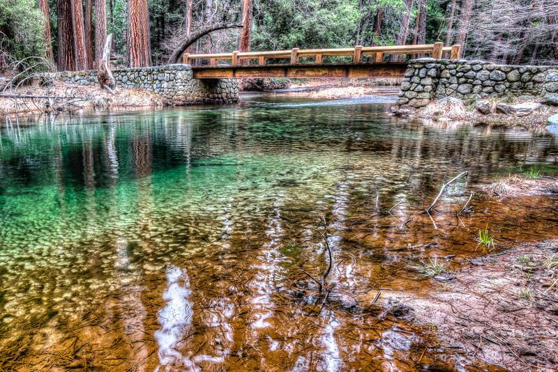 Bridge over Tenaya Creek, Yosemite Valley