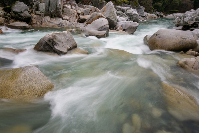 South Yuba River canyon in the winter