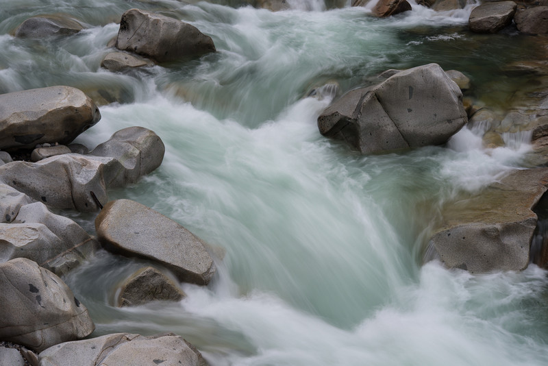 winter water at the Yuba