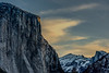 First light on El Capitan, Yosemite Valley