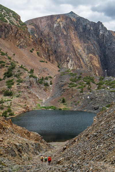 Lake Helen and Lundy Canyon