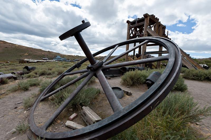 Bodie mining relics