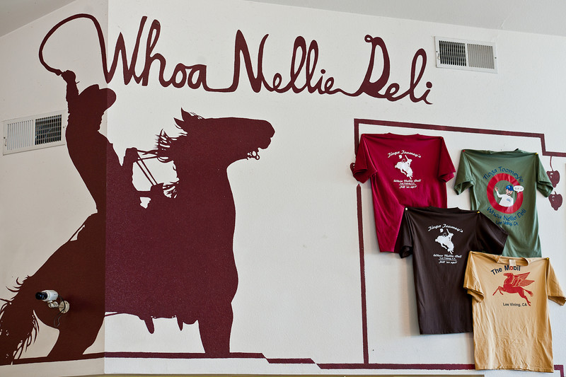 Best gas station food on the planet, the famous Whoa Nellie Deli, Lee Vining