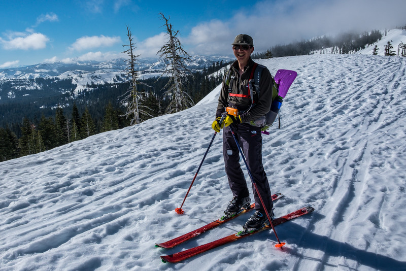 backcountry ski touring, Castle Peak