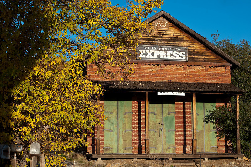 Wells Fargo Pony Express station, French Corral