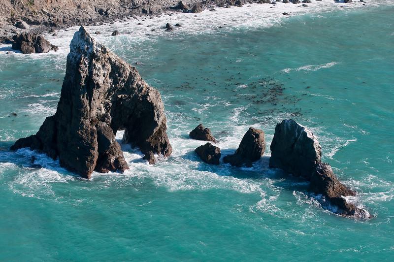 Offshore rock formations, Mendocino Coast