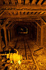 The main shaft of the Empire Mine, once the oldest and richest gold mine in California