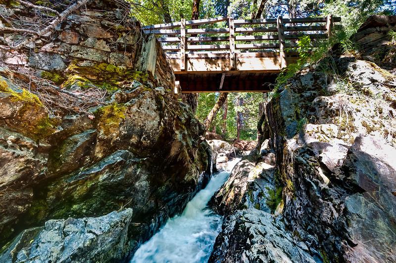 Bear River and Pioneer Trail Bridge