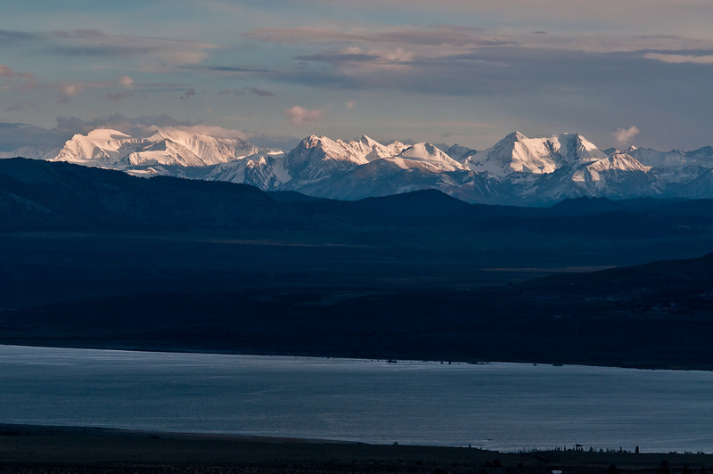 Mono Lake from Conway Summit, Hwy 395
