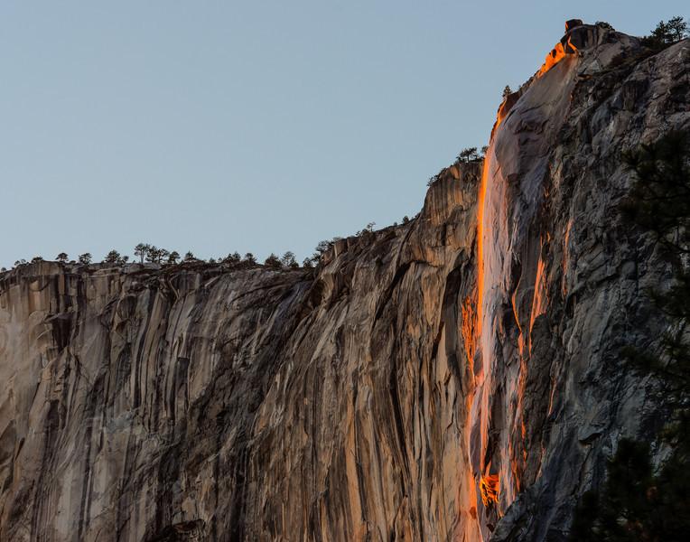 Horsetail Falls, February 2013