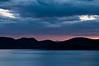 Sunrise at Topaz Lake and seagull
