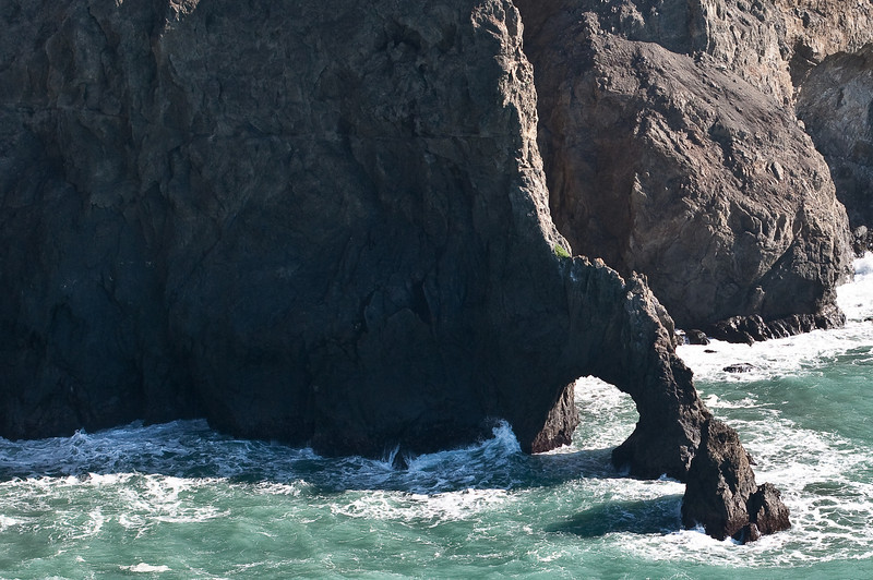 Sea Arch, Mendocino Coast