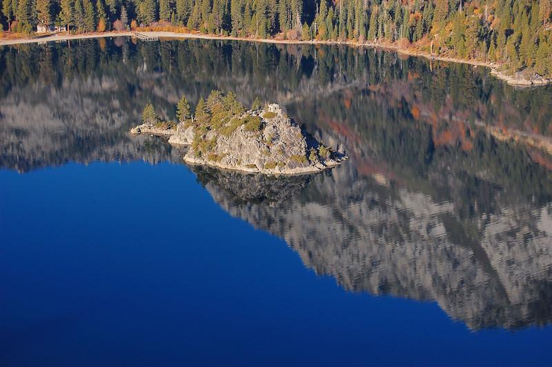 Wizard Island in Emerald Bay, Lake Tahoe