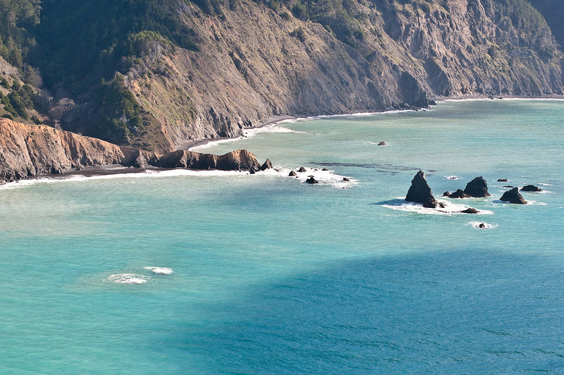 The beautifully rugged Mendocino Coast