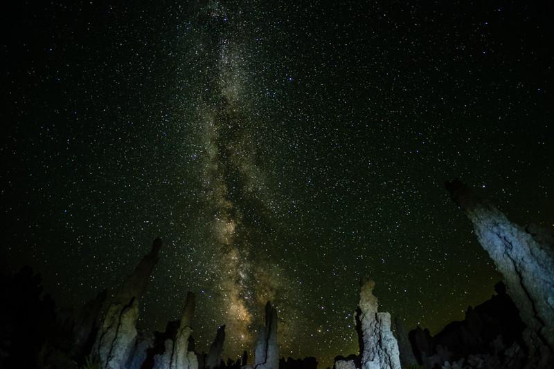 Mono Lake Tufa and Milky Way