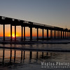 Scripps Pier near Sunset