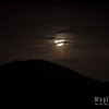 Moonrise and Cowles Mountain