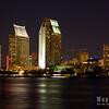 San Diego Skyline - Grand Hyatt