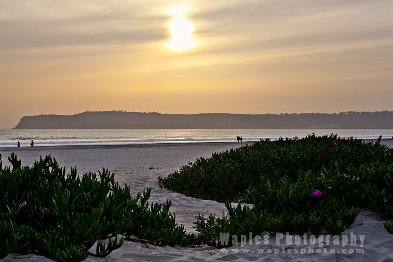 Point Loma at Sunset
