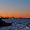 San Diego Harbor at Sunset