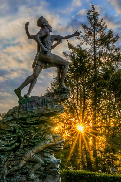 Spirit of the Marathon Statue - Hopkinton, MA - Tom Sloan