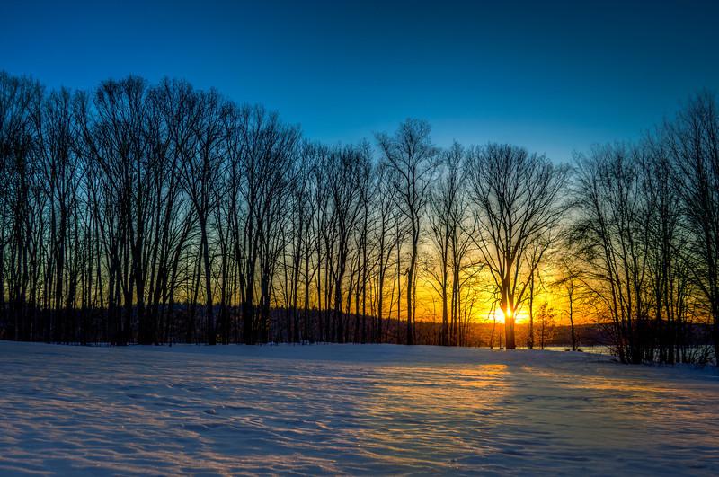 Sunset Silhouette  - Westborough, MA