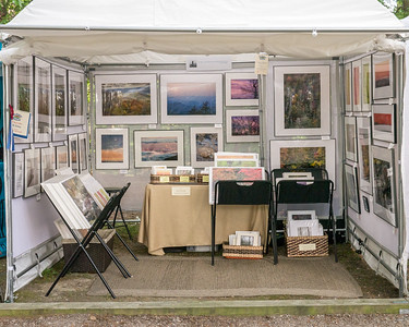 Display at Fort Clifton Arts & Craft Festival 2014