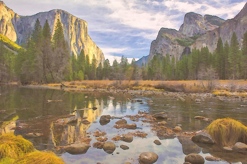 Valley View - Yosemite, California