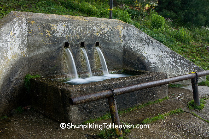 """The Watering Trough"", Natural Spring, Athens County, Ohio"