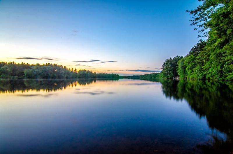 Sunset Still Water - Ashland State Park - Tom Sloan