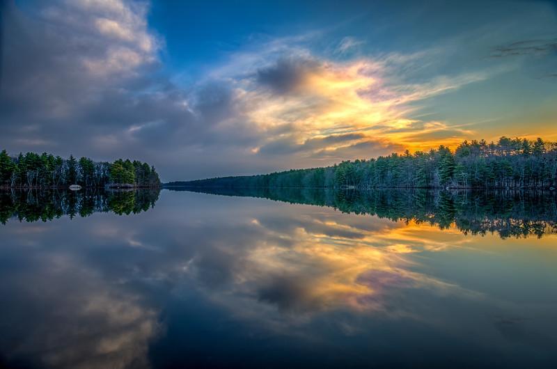 Sunrise Reflections - Ashland State Park
