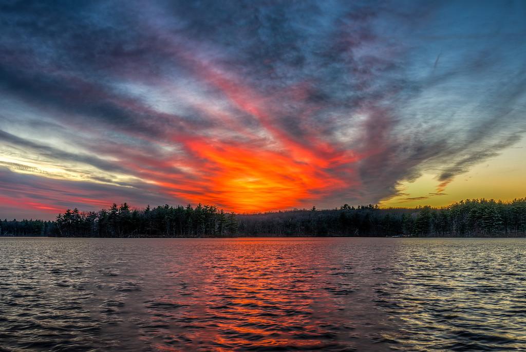 Sky on Fire - Ashland State Park