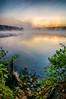 Foggy Fall Morning - Ashland State Park - Tom Sloan