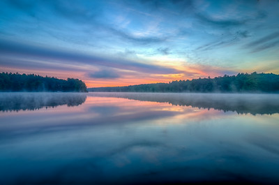 Light Fog on the Water at Dawn 2