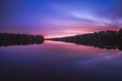 Sunrise Long Exposure - Ashland State Park - Tom Sloan