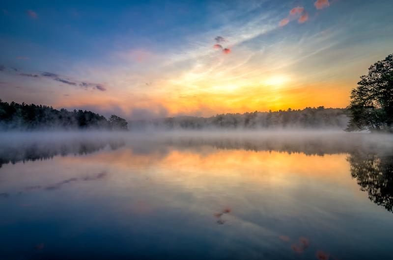 Fog at Dawn - Ashland State Park
