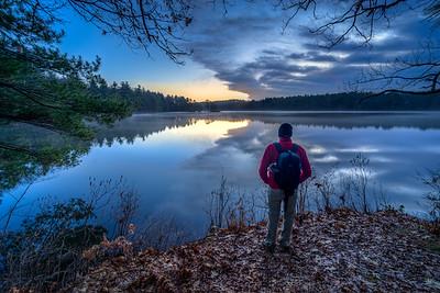 Let There Be Light Selfie - Ashland State Park - Tom Sloan