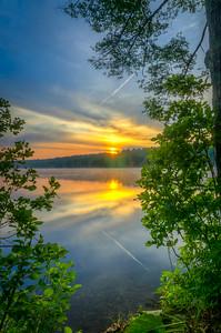 Golden Sunrise Reflections