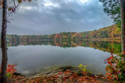 Grey Fall Morning - Ashland State Park
