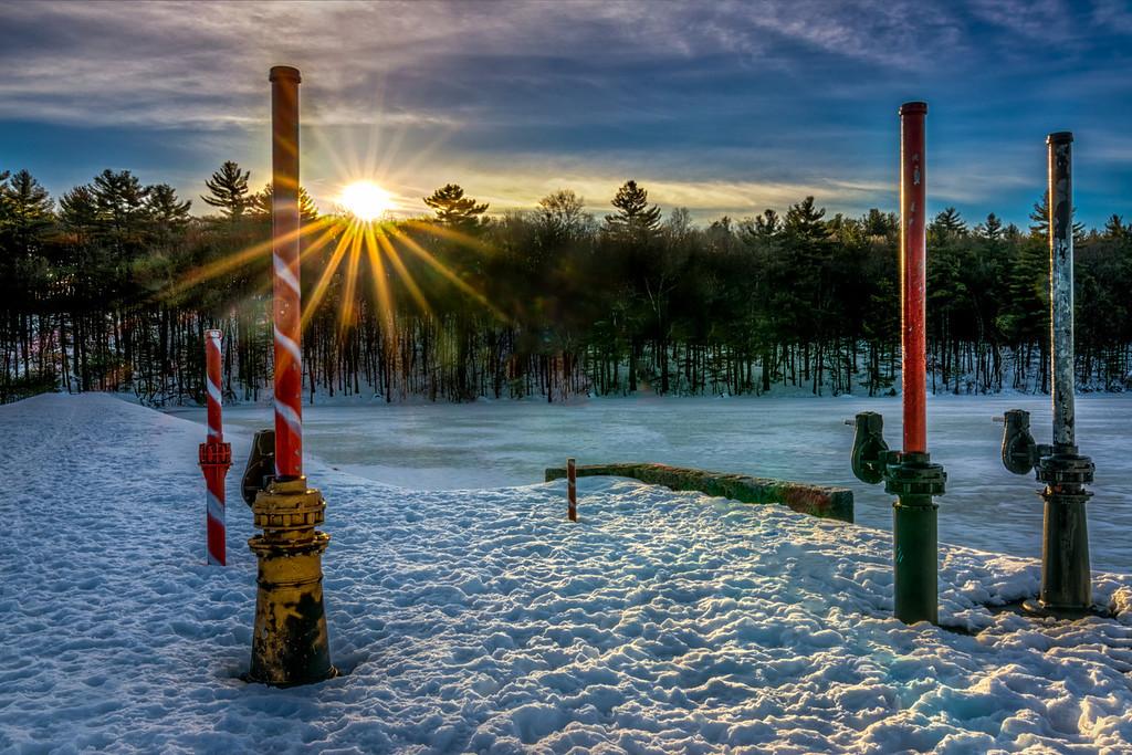 Ashland State Park - Sentinels at Sunrise