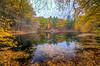 Autumn Reflecting Pond - Ashland State Park