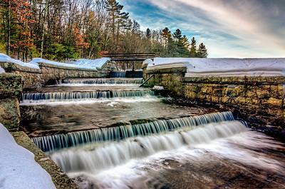 Spillway Winter Runoff - Ashland State Park