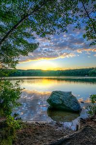 Summer Solstice Sunset 2