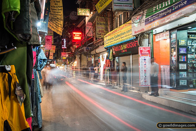 Thamel night scene