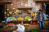 Street fruit seller